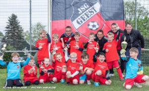 G U-7 der JSG Geest Sieger beim Logehof Cup 2019