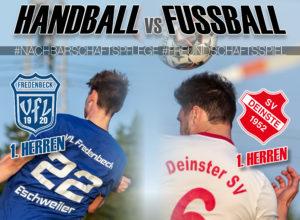 Fussball vs Handball