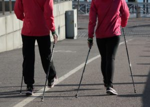 Nordic Walking: Zwangspause im November