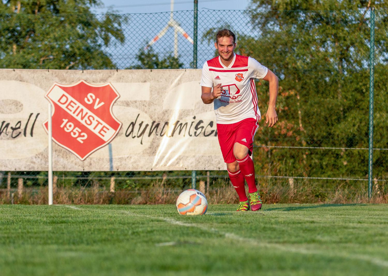Kreisliga Stade: Moritz Glodeck schießt das Tor des Tages